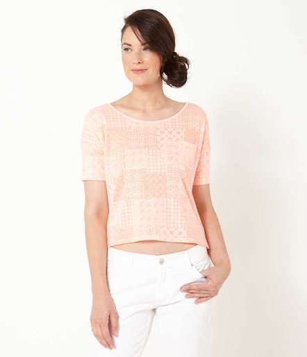 T-shirt femme cropped