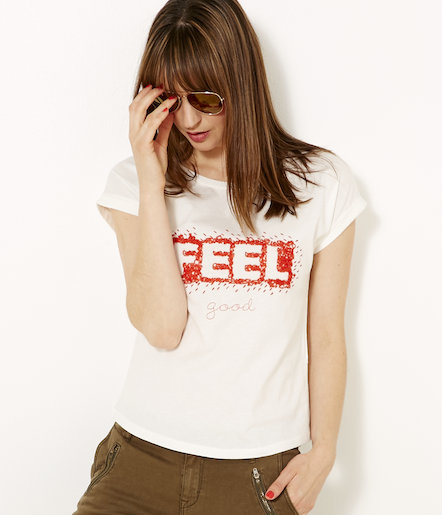 T-shirt femme « Feel Good »