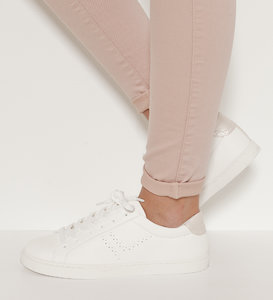 Baskets basses blanches femme