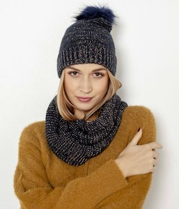 Snood maille irisée femme