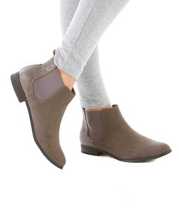 Low boots femme plates
