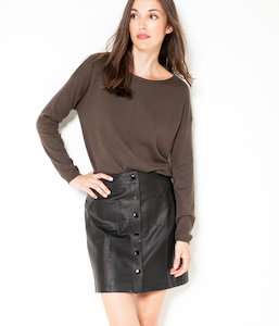 Pull femme fine maille